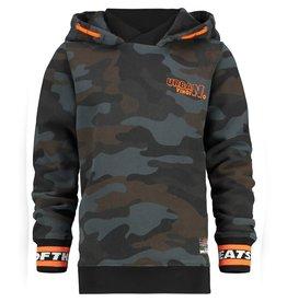 Vingino Vingino jongens hoodie Nyano Army