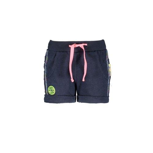 B.Nosy B.Nosy baby meisjes korte broek met bolletjes in de stof