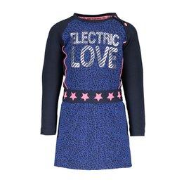 B.Nosy B.Nosy baby meisjes jurk Electric Love