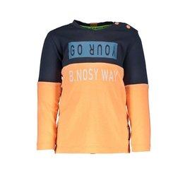 B.Nosy B.Nosy baby jongens shirt GO YOUR B.NOSY WAY