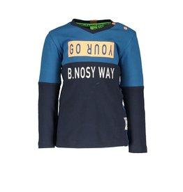 B.Nosy B.Nosy baby jongens shirt B.NOSY WAY