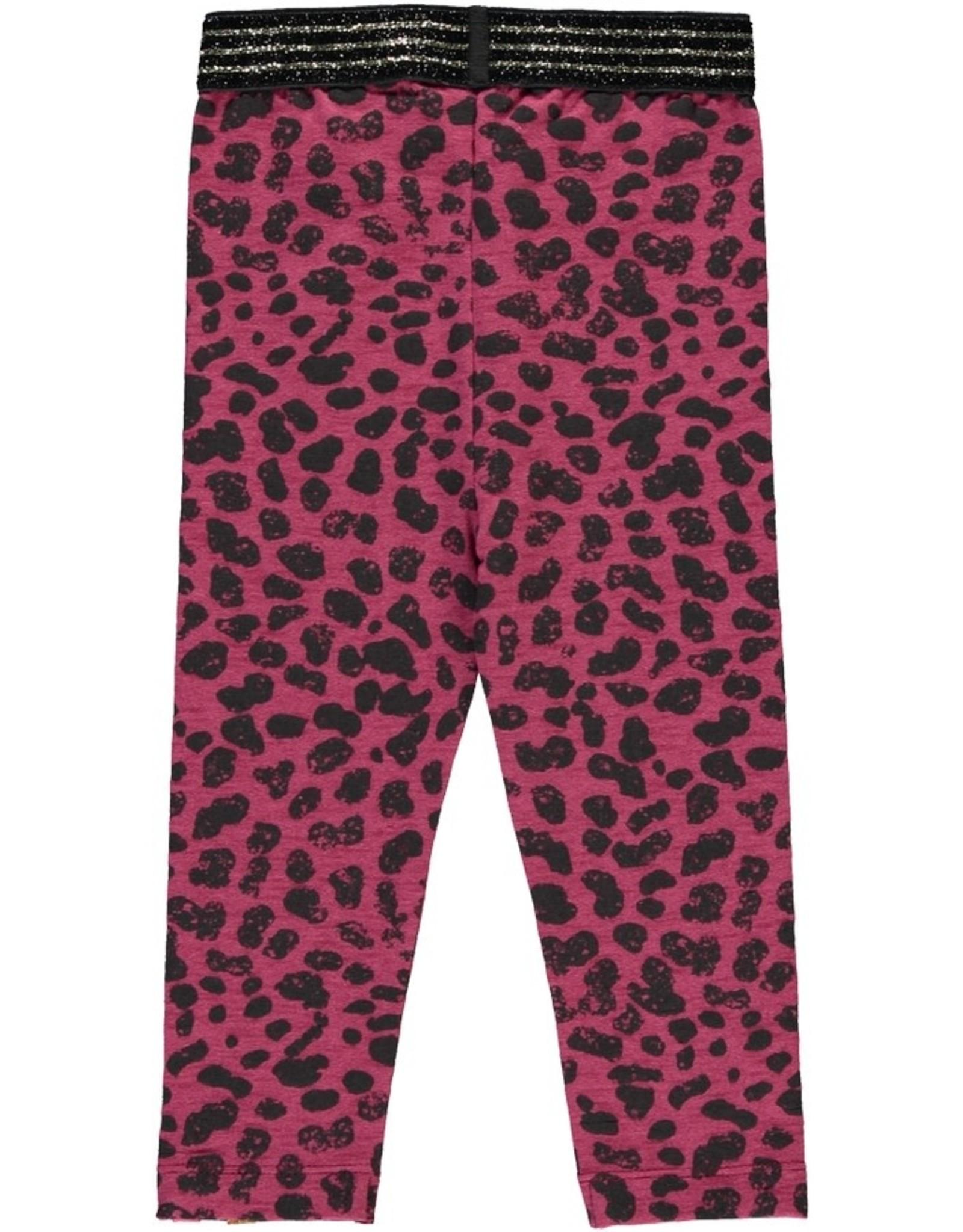 Quapi Quapi baby meisjes legging Veerle Leopard