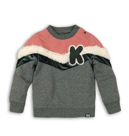 Koko Noko Koko Noko baby meisjes sweater Grey