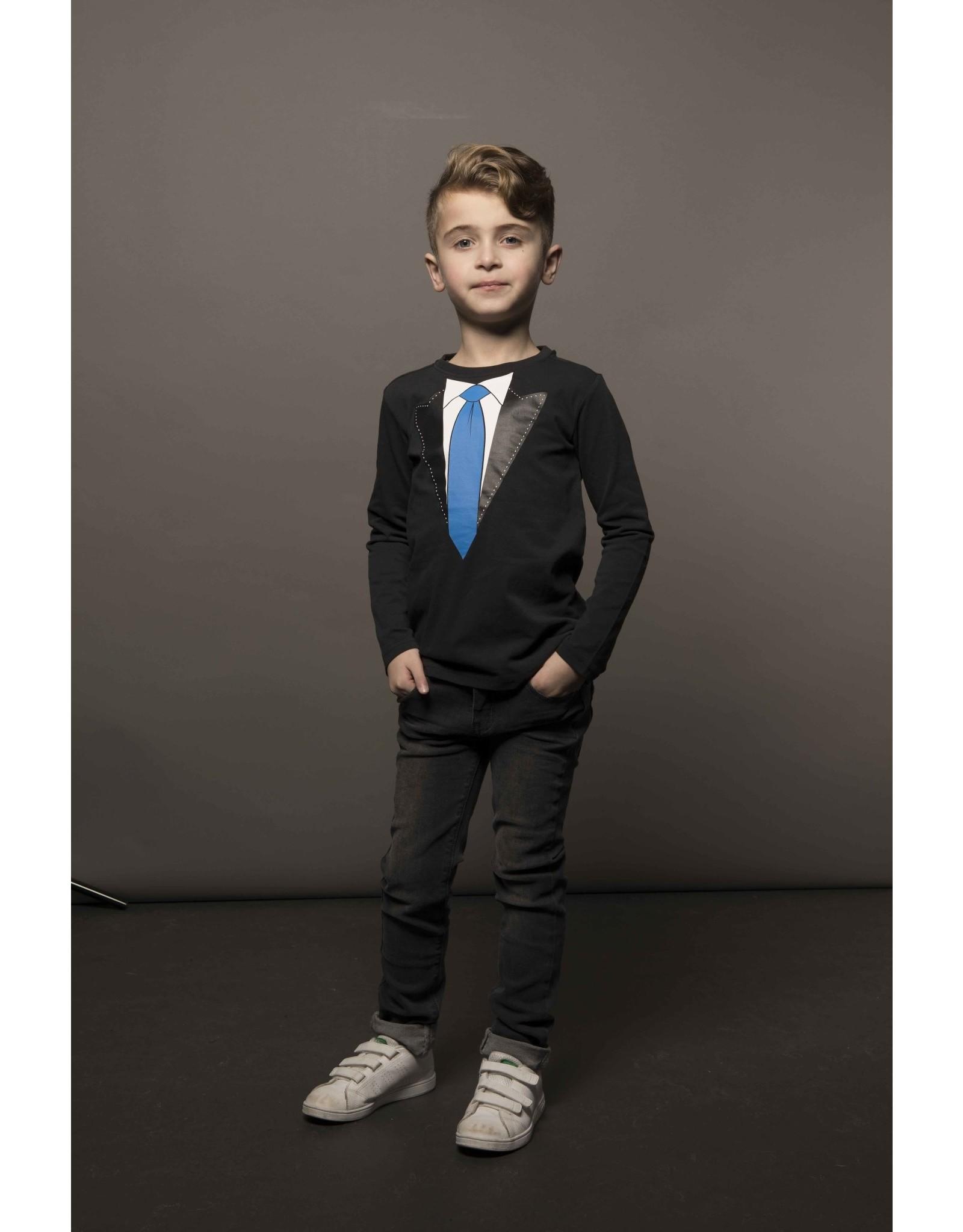TYGO & vito TYGO & vito jongens shirt met stropdas