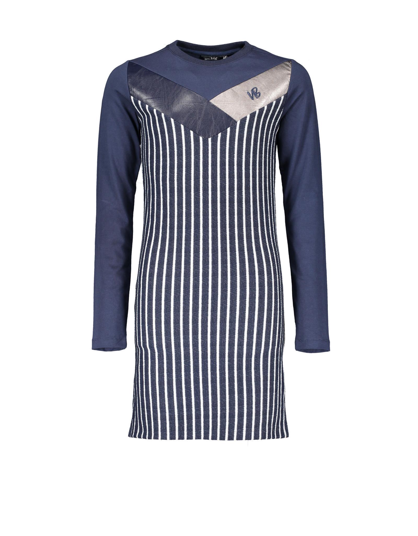 NoBell meiden jurk Maury Navy Blazer