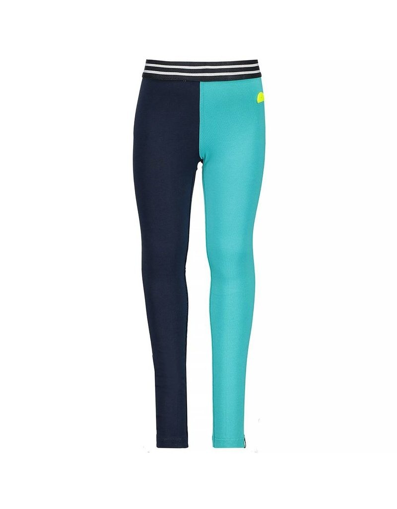 B.Nosy B.Nosy meisjes 2-kleurige legging Blue