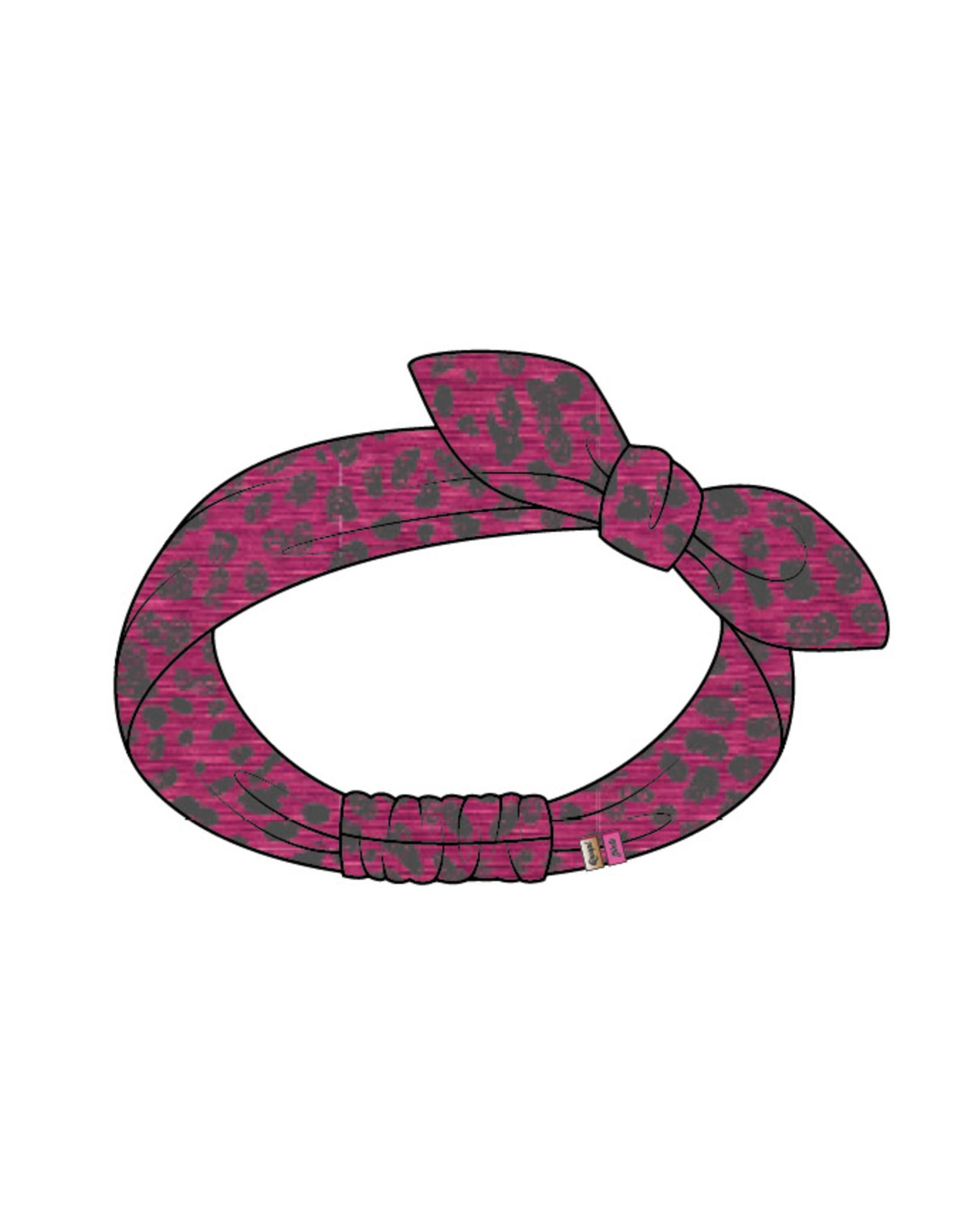 Quapi Quapi meisjes haarband Tesslynn Leopard