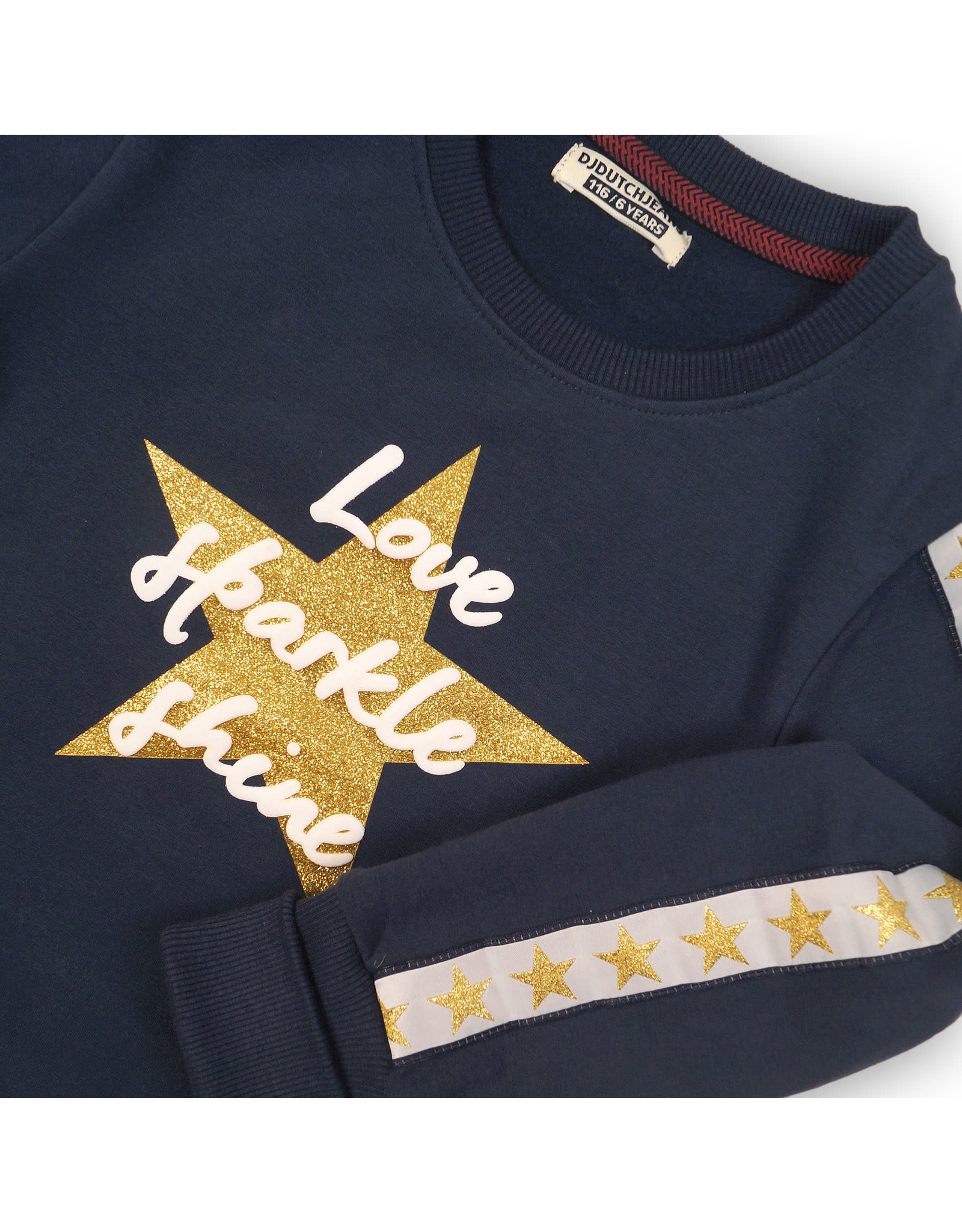 DJ Dutchjeans DJ Dutch meiden sweater Love Sparkle Shine