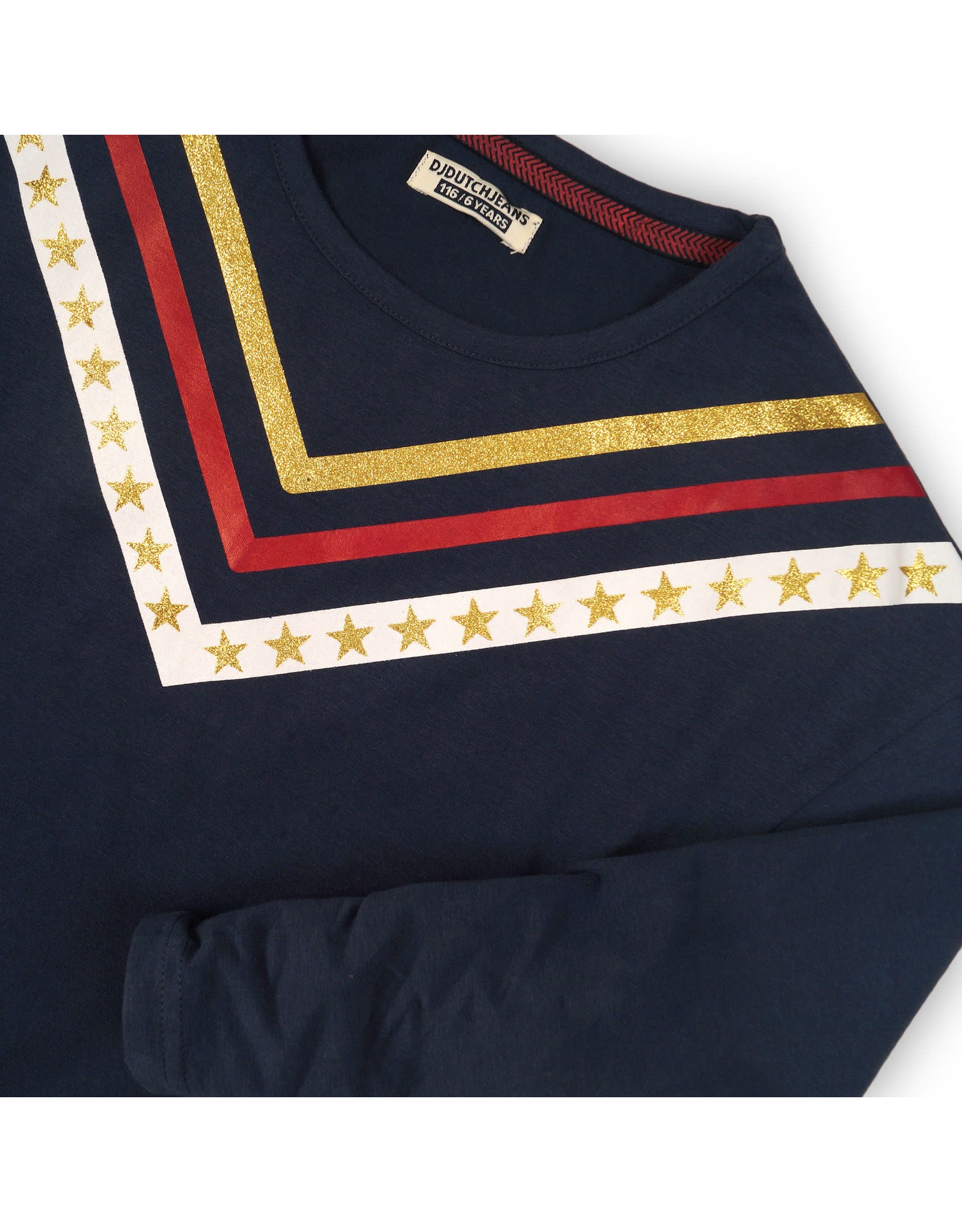 DJ Dutchjeans DJ Dutch meiden sterren shirt Love Sparkle Shine