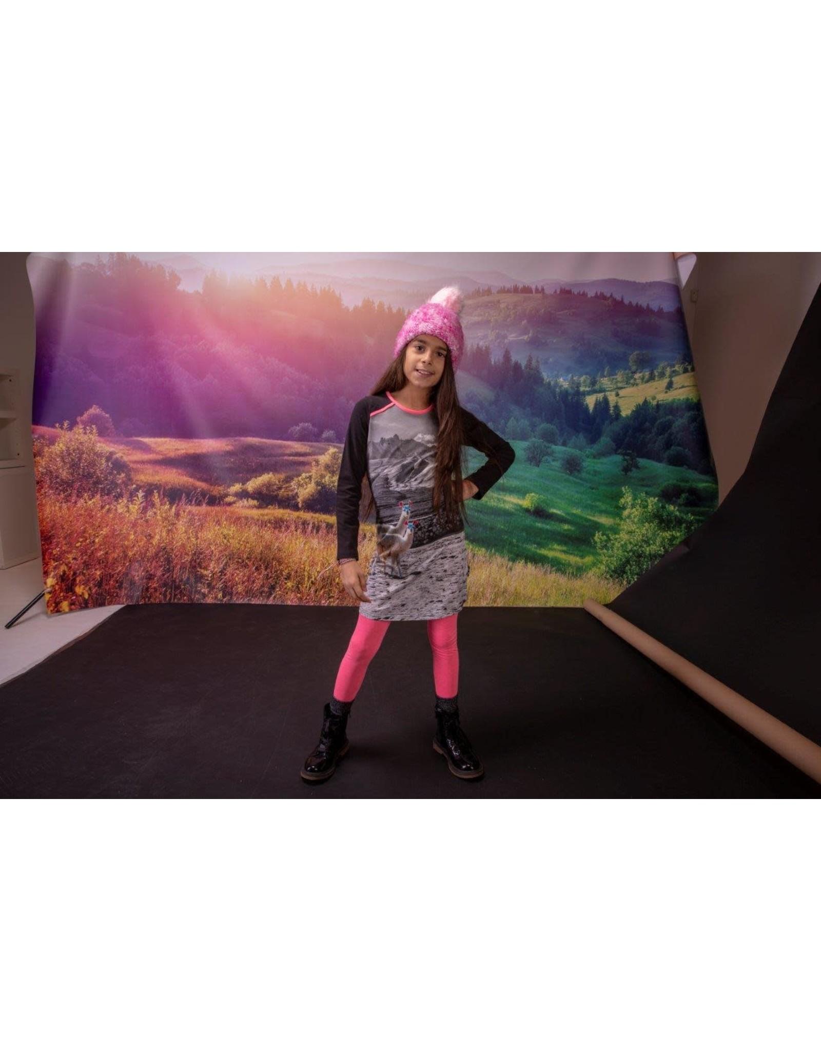 Lovestation Love Station meisjes jurk Aaf Multicolor
