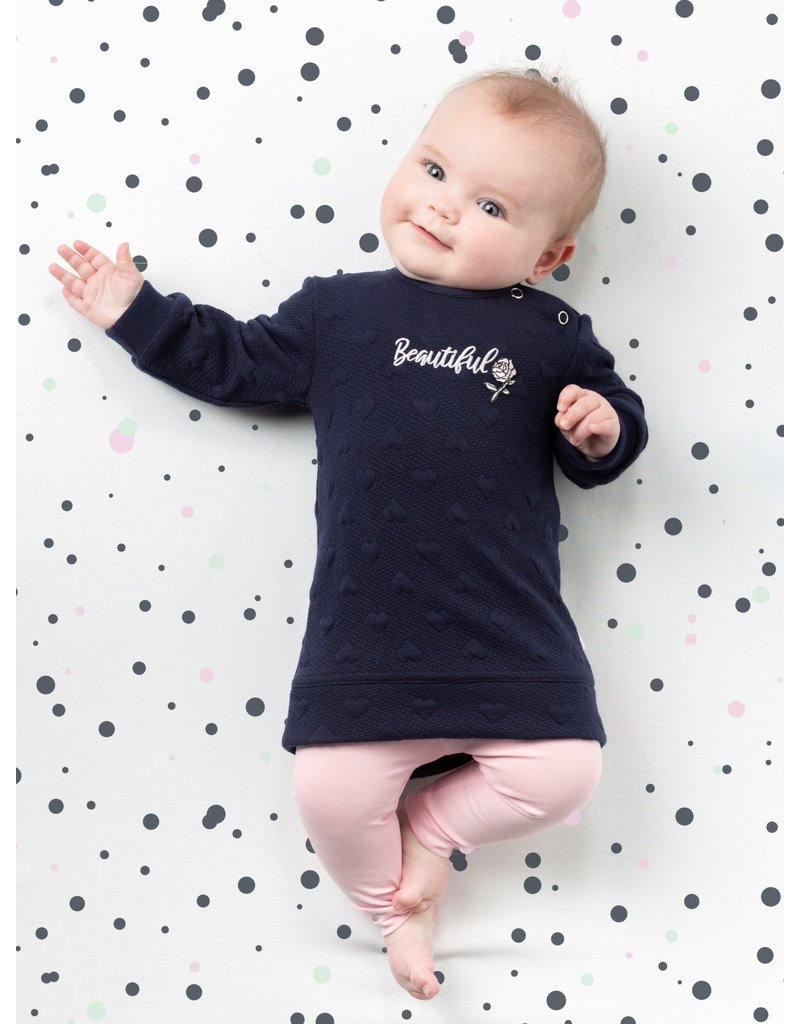 Quapi Quapi newborn meisjes jurk Xalivia
