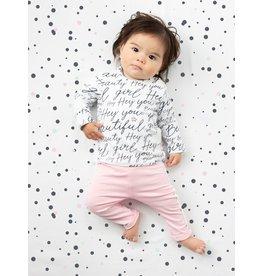 Quapi Quapi newborn meisjes shirt Xaomy Text