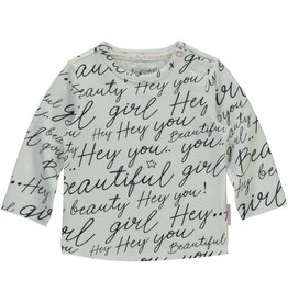 Quapi Quapi newborn meisjes shirt Xaomy Text