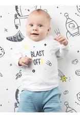 Quapi Quapi newborn jongens shirt Xammie wit