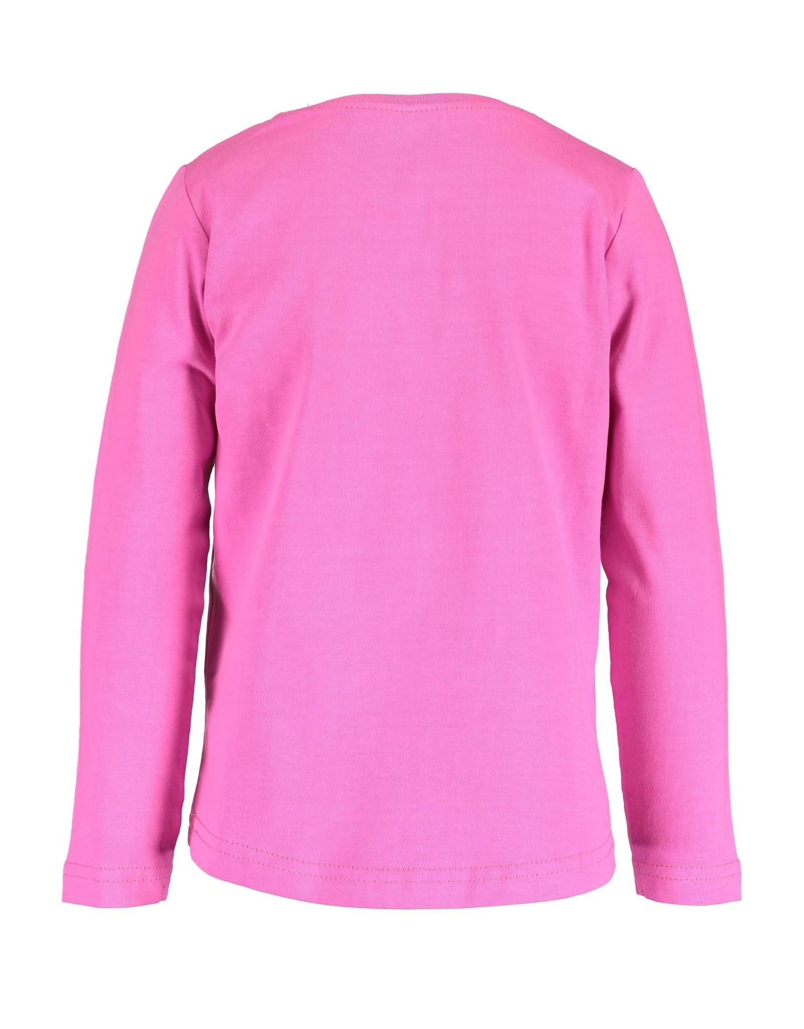 Blue Seven Blue Seven meisje shirt TRENDSETTER roze