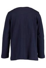 Blue Seven Blue Seven jongens shirt LET'S TRAVEL navy