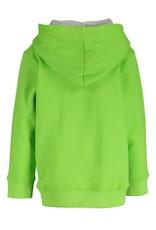 Blue Seven Blue Seven jongens hoodie SKATER BOY groen