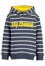 Blue Seven Blue Seven jongens hoodie LET'S TRAVEL