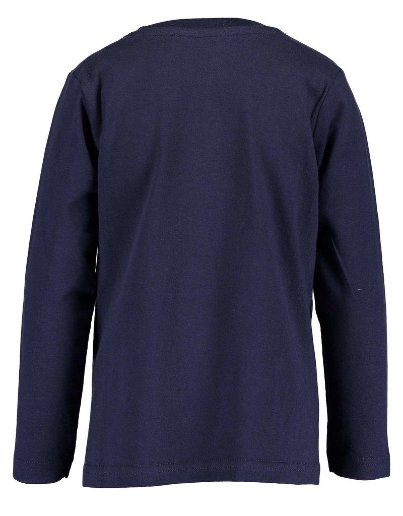 Blue Seven Blue Seven jongens shirt SKATER BOY blauw