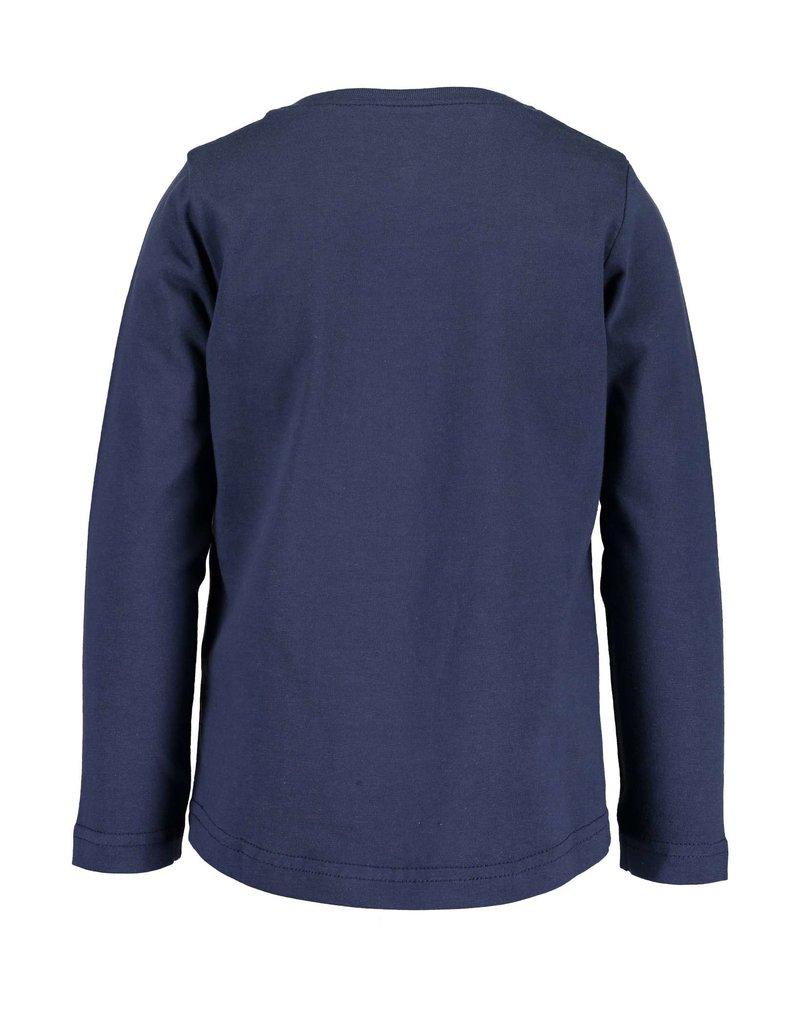 Blue Seven Blue Seven meisje shirt TRENDSETTER blauw