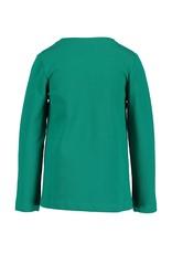 Blue Seven Blue Seven meisjes shirt GIRLS SQUAD groen
