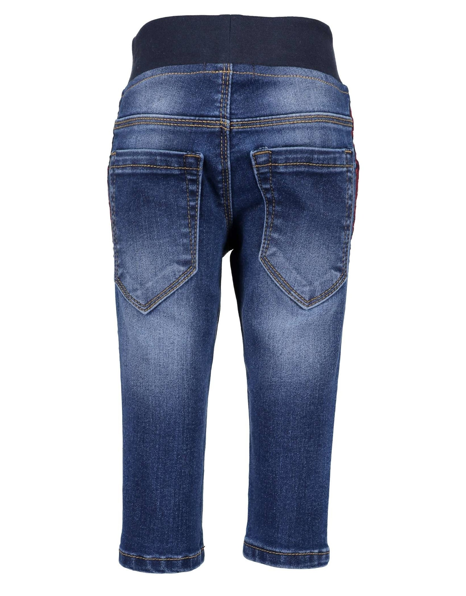Blue Seven Blue Seven baby jongens pull-up jeans NEVER GIVE UP