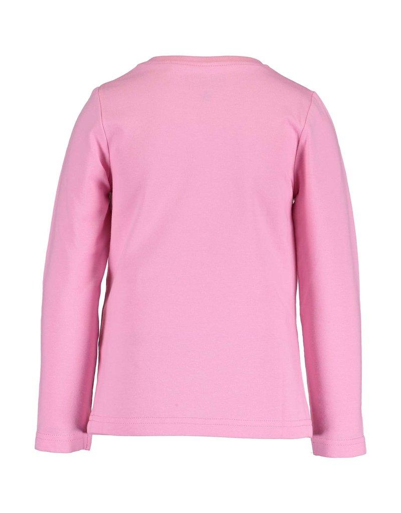 Blue Seven Blue Seven meisjes shirt GIRLS SQUAD roze