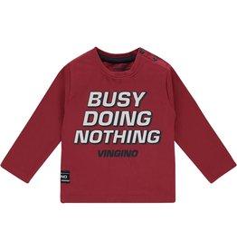 Vingino Vingino jongens shirt Jaap Red