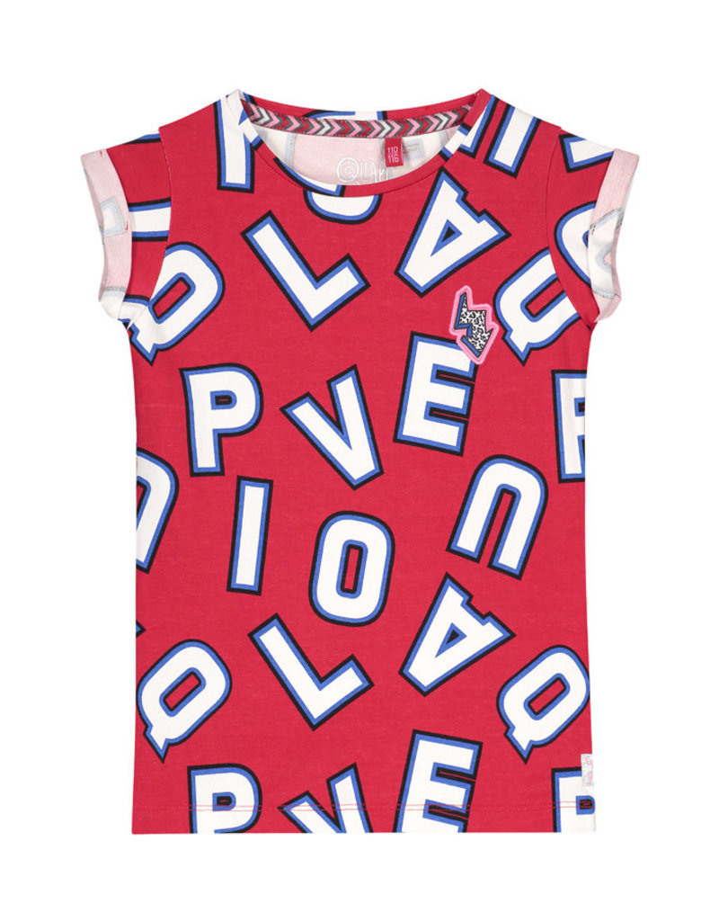 Quapi Quapi meisjes t-shirt Aisha Red
