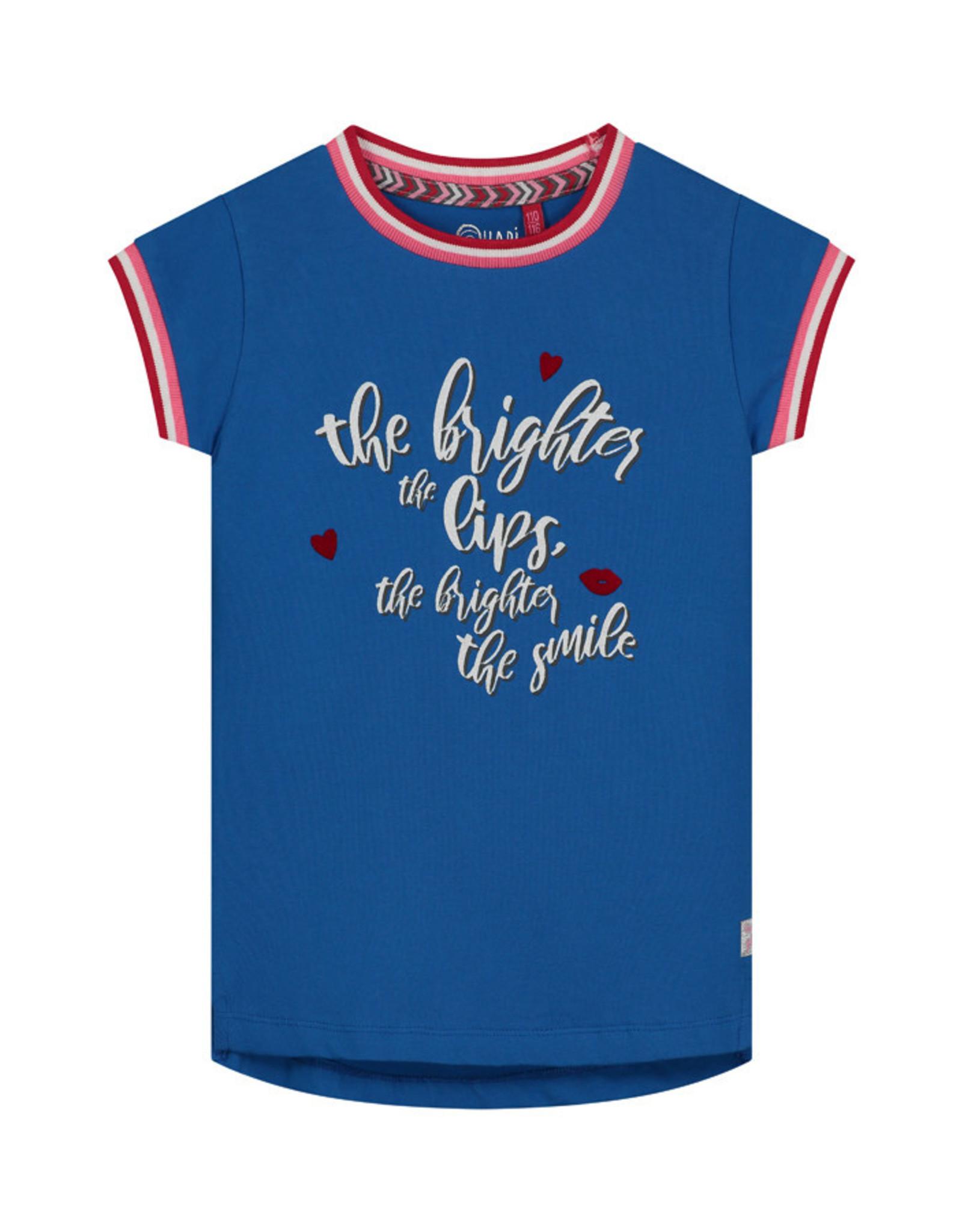 Quapi Quapi meisjes t-shirt Alexis Blue