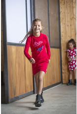 Quapi Quapi meisjes jurk Abina Red