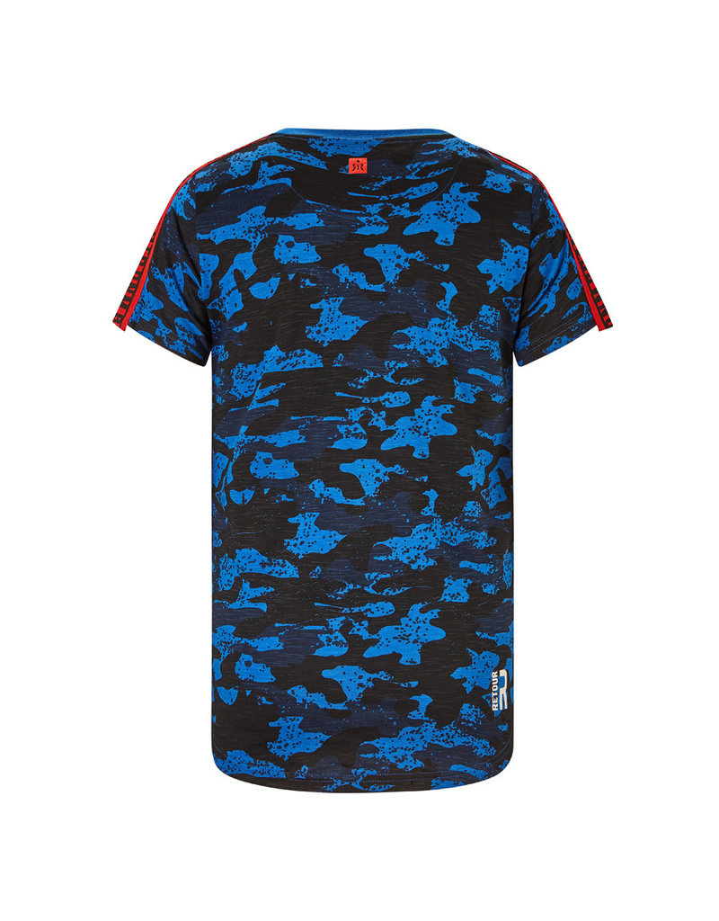 RETOUR Retour jongens ao t-shirt Levi Blue