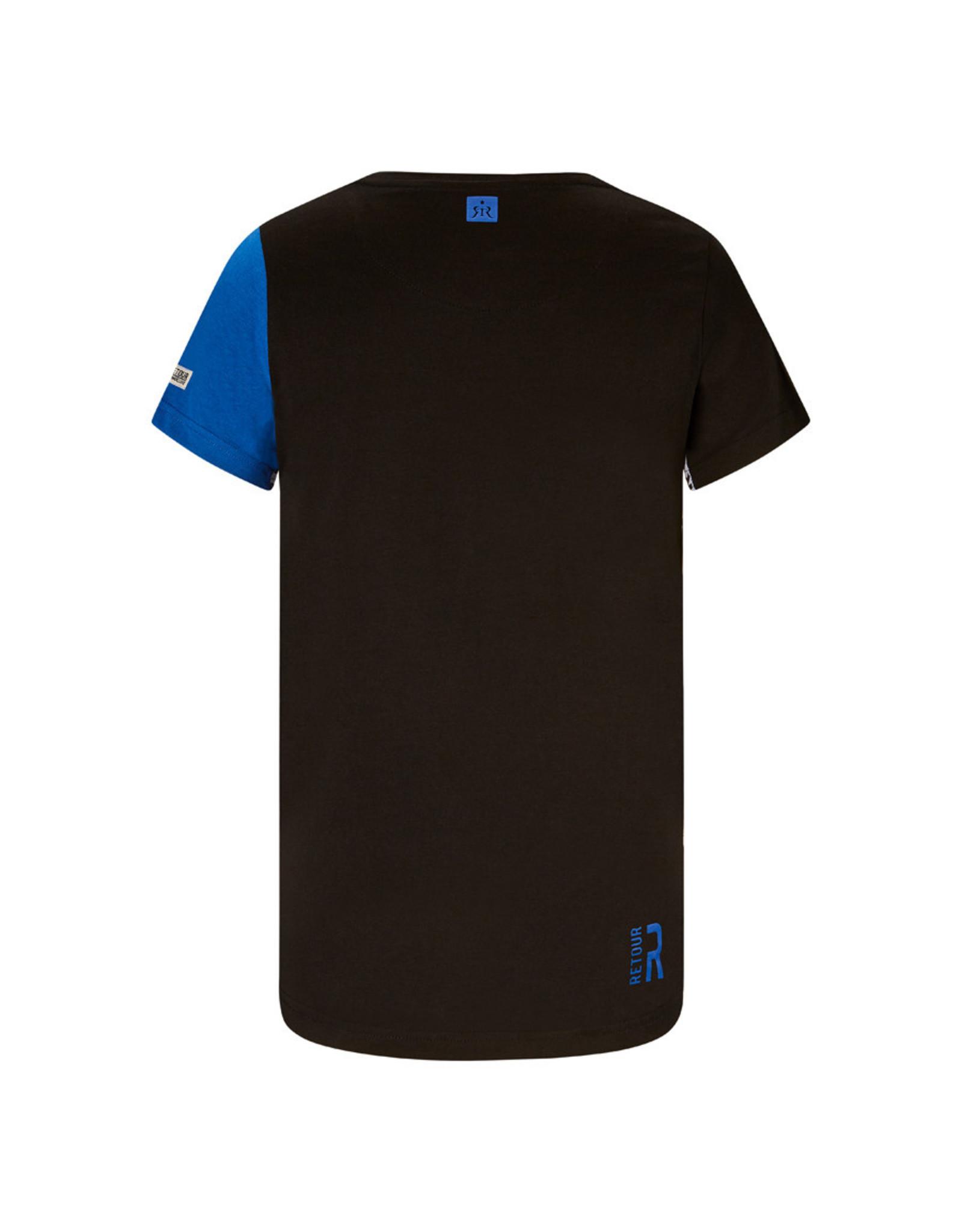 RETOUR Retour jongens t-shirt Gavin Black