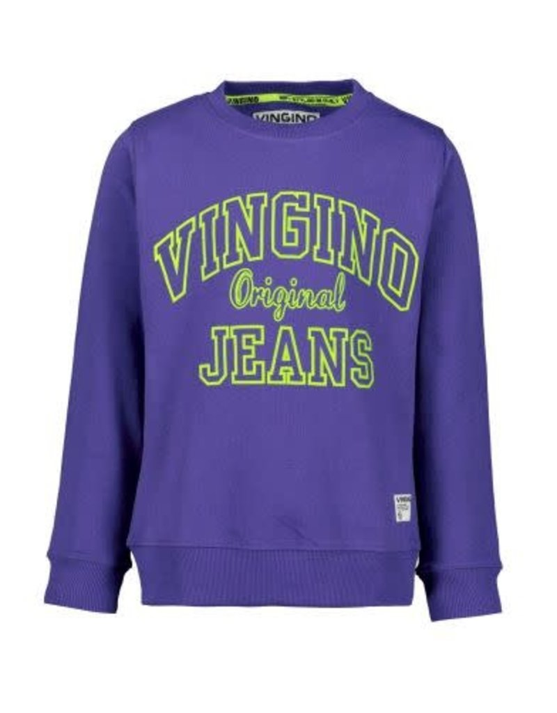 Vingino Vingino jongens sweater Nate Purple