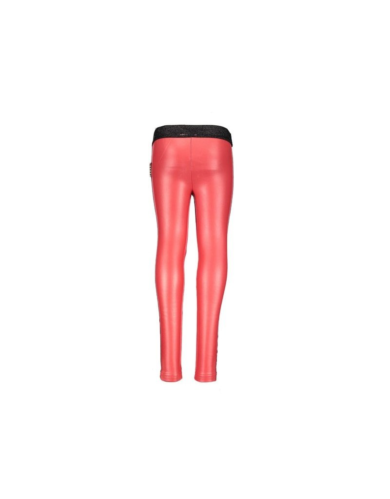 B.Nosy B.Nosy meisjes legging met sterrenbies Red