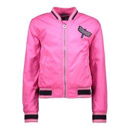 B.Nosy B.Nosy meisjes zomerjas met zebra op de achterkant Pink Glo