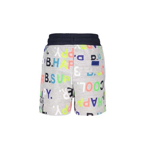 B.Nosy B.Nosy baby jongens korte broek met aop letters