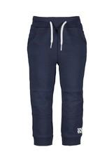 B.Nosy B.Nosy baby jongens joggingbroek met kniestukken Oxford Blue