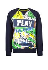 TYGO & vito TYGO & vito jongens sweater PLAY Navy