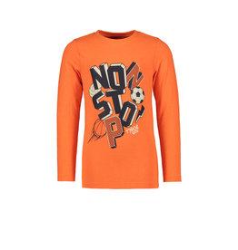 TYGO & vito TYGO & vito jongens shirt NO STOP Neon Orange