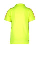 TYGO & vito TYGO & vito jongens polo t-shirt met bies Yellow