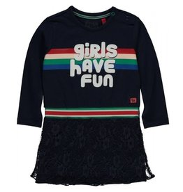 Quapi Quapi baby meisjes jurk Venicia Navy