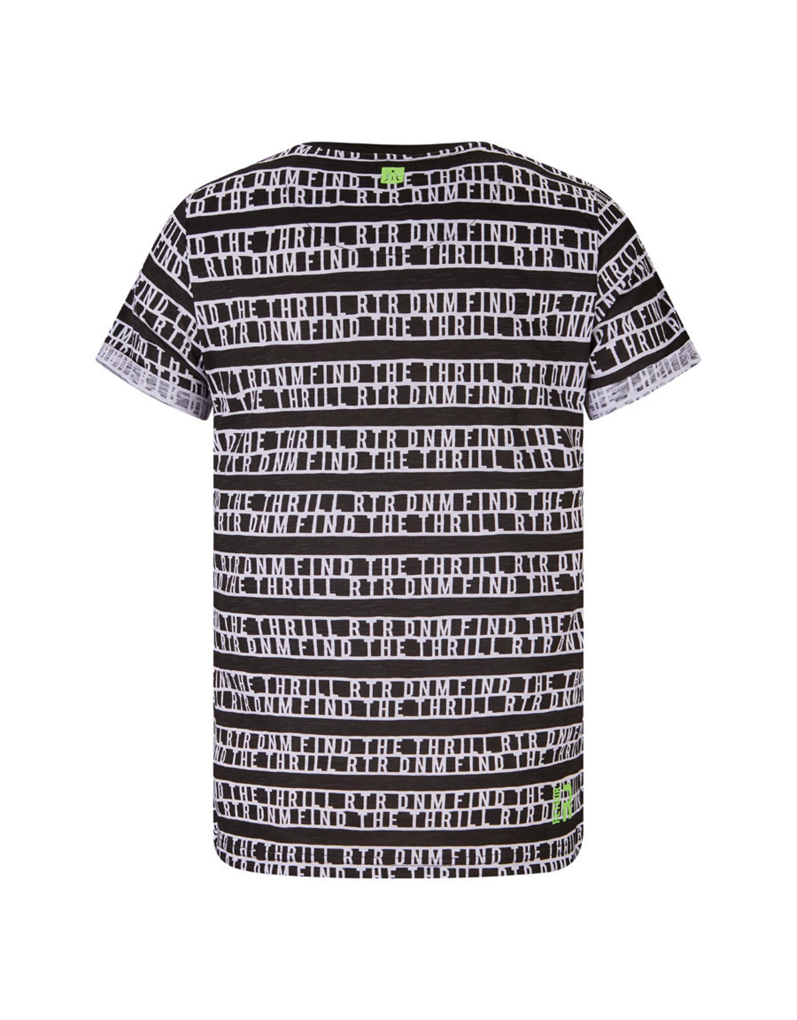 RETOUR Retour jongens ao t-shirt Moris Black