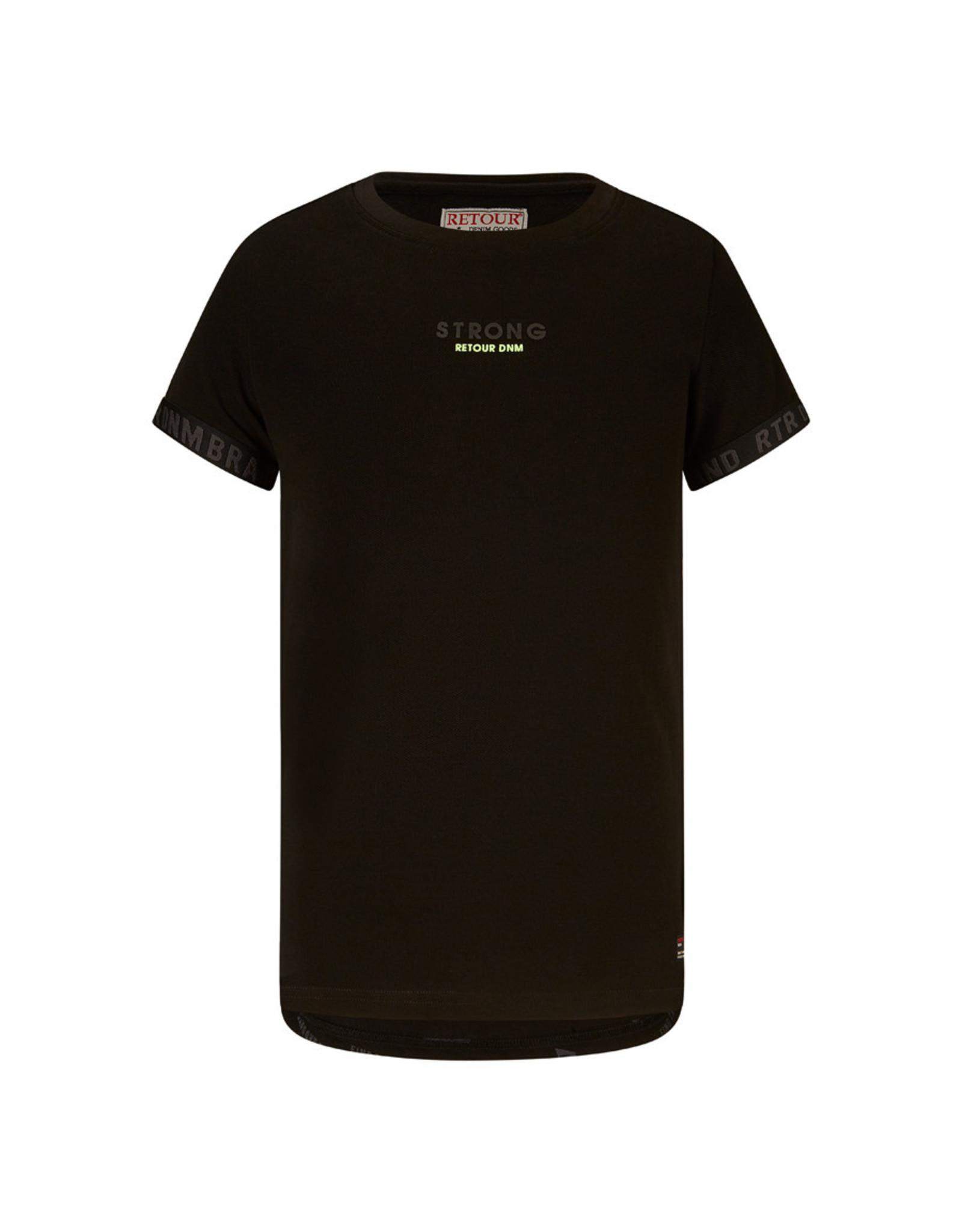 RETOUR Retour jongens t-shirt Zack Black