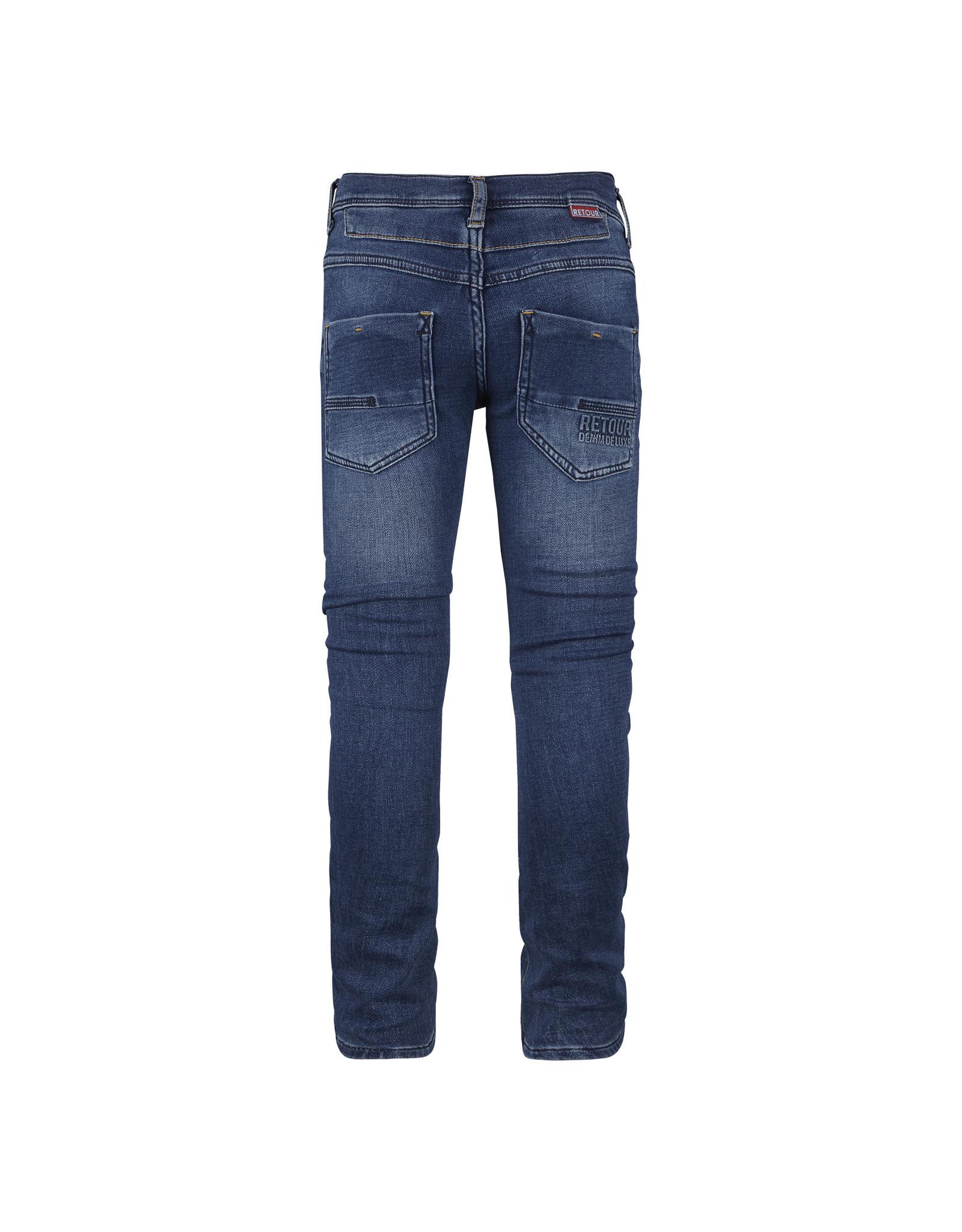 RETOUR Retour jongens jeans Luigi medium blue