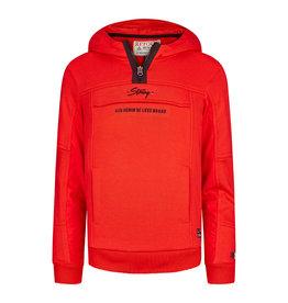 RETOUR Retour jongens hoodie Chiel Red