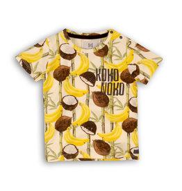 Koko Noko Koko Noko jongens t-shirt kokosnoten