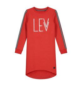 LEVV Levv meiden jurk Fab Fiery Red