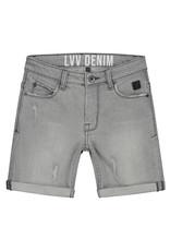 LEVV Levv jongens korte spijkerbroek Friso Grey Denim