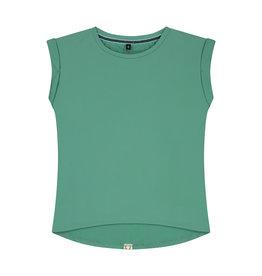 LEVV Levv meiden t-shirt Faina Botanic Green